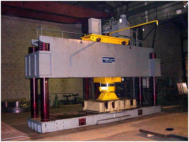Second hand pagnoni impianti straightening press used for Pressa idraulica per officina usata